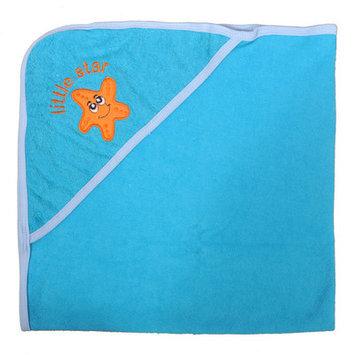 Tadpoles Starfish Newborn Baby Hooded Bath Towel