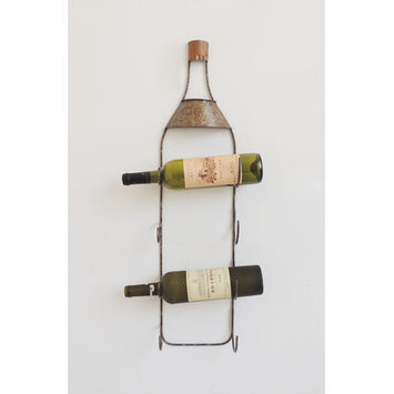 Charlton Home 4 Bottle Tabletop Wine Rack