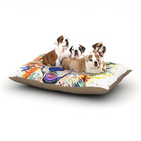 East Urban Home Rebecca Fischer 'Jess' Dog Pillow with Fleece Cozy Top Size: Large (50