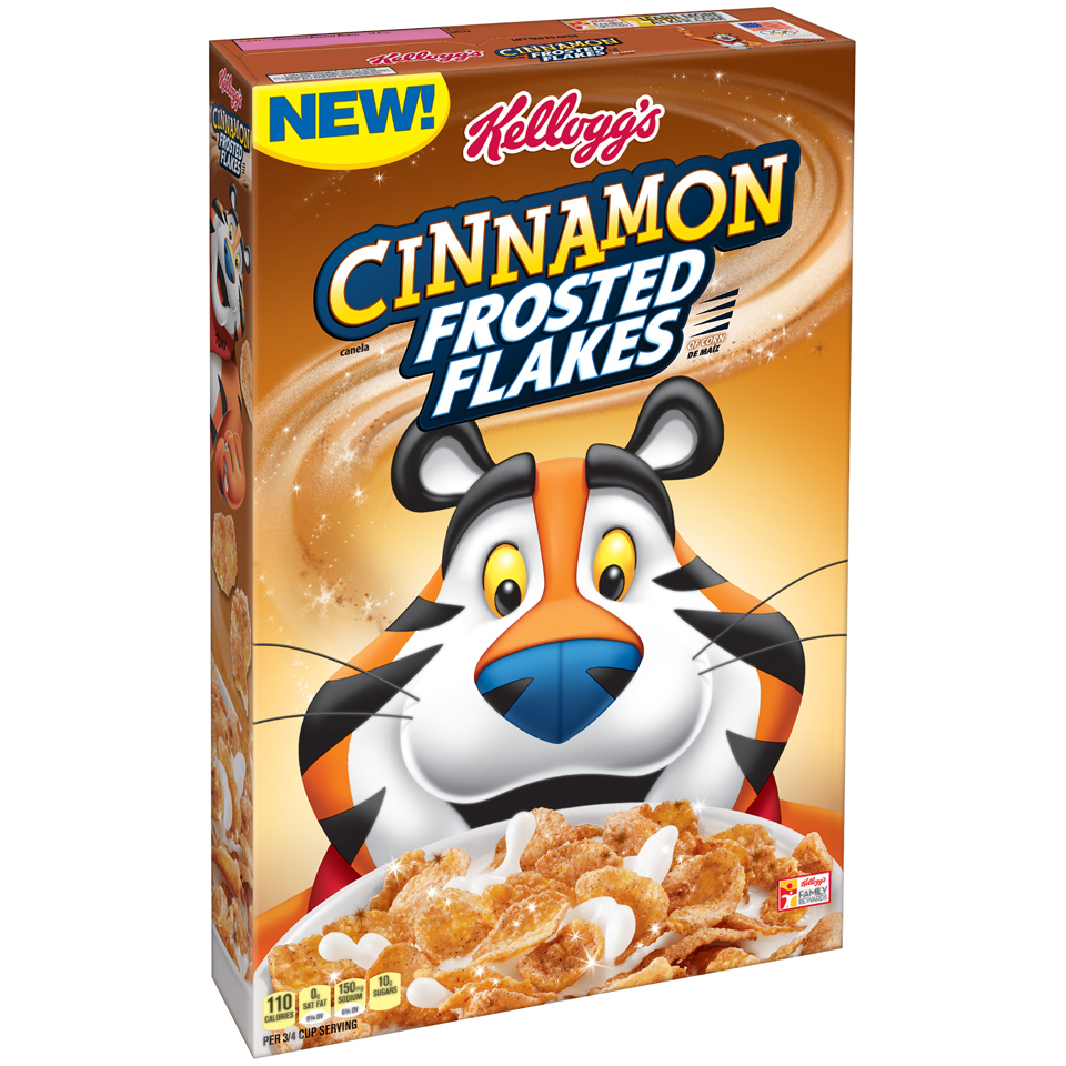 Kellogg's® Cinnamon Frosted Flakes™ of Corn 13.6 oz. Box