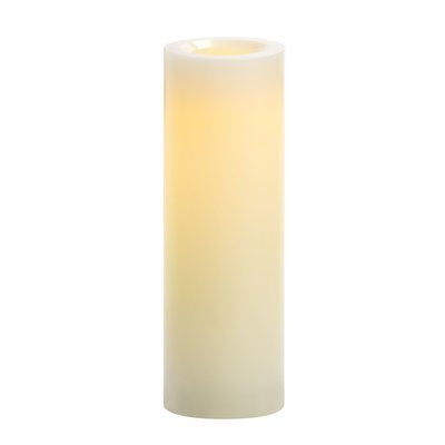 Red Barrel Studio Tall Unscented Flameless Candle Size: 10