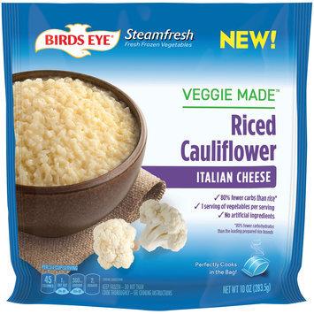Birds Eye® Steamfresh Veggie Made™ Italian Cheese Riced Cauliflower 10 oz. Bag