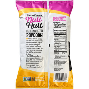 Black Jewell® Null Hull® Heirloom Hulless Butter Popcorn 4.5 oz. Bag