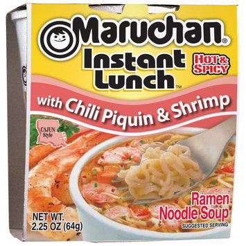 Maruchan® Instant Lunch™ with Chili Piquin & Shrimp Ramen Noodles 2.25 oz. Cup