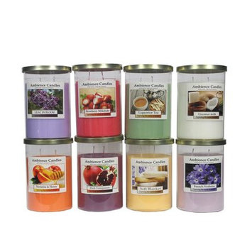 Essential Decor & Beyond Scent Jar Candle Size: 5.9