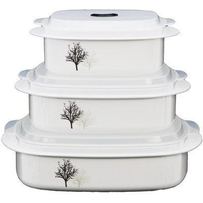 Corelle Coordinates 6 Piece Cookware / Storage Set
