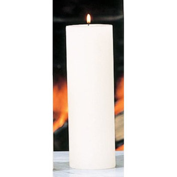 Beachcrest Home Unscented Pillar Candle Size: 3