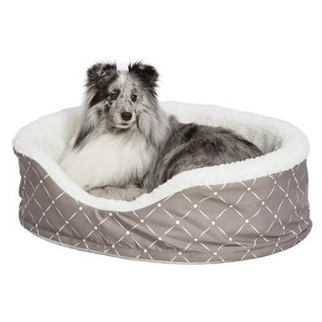 Midwest Homes For Pets Quiet Time Bolster Color: Mushroom, Size: 17.75