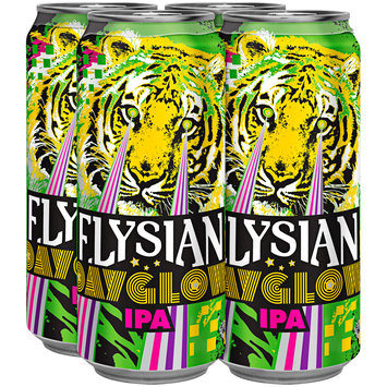 Elysian Dayglow IPA Beer 4-16 fl. oz. Pull-Top Cans
