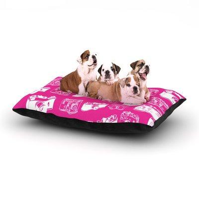 East Urban Home KESS Original 'Camera' Dog Pillow with Fleece Cozy Top Size: Small (40