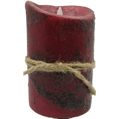 Starhollowcandleco Rustic Motion Flameless Candle Size: 7