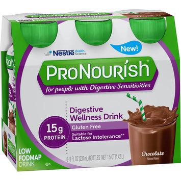 ProNourish™ Chocolate Low FODMAP Nutritional Drink 6-8 fl. oz. Plastic Bottles