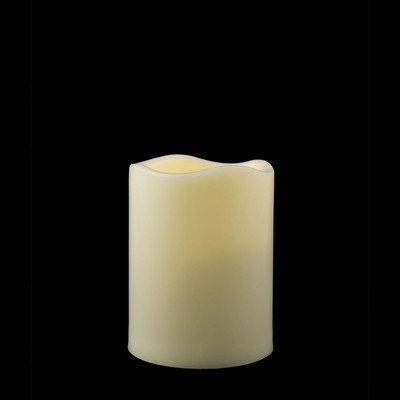 Pacific Accents Flameless Pillar Candle Size: 3.75