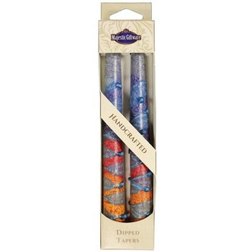 Jcommerce Judaica Sunrise Taper Candle Size: 7.5
