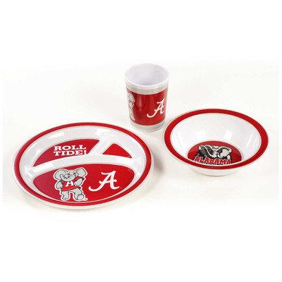 Neoplex NCAA 3 Piece Dish Set NCAA: Alabama