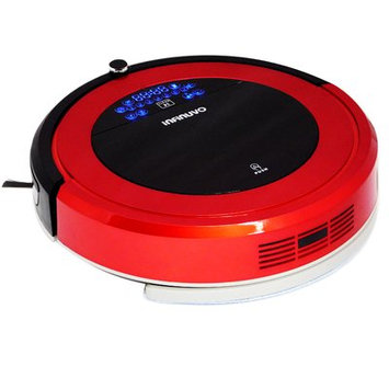 Infinuvo 4-in-1 Robotic Vacuum with Sweeping, Wet/Dry Mopping, UV Sterilization Color: Red