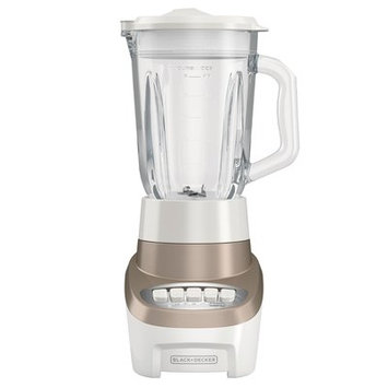 Black & Decker PowerCrush Multi-Function Blender with 6-Cup Glass Jar Color: Champagne