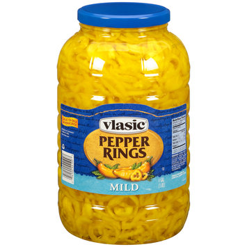 Vlasic® Mild Pepper Rings 1 gal. Jar