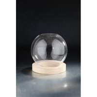 Diamond Star Glass Terrarium Accessory Container with Stand