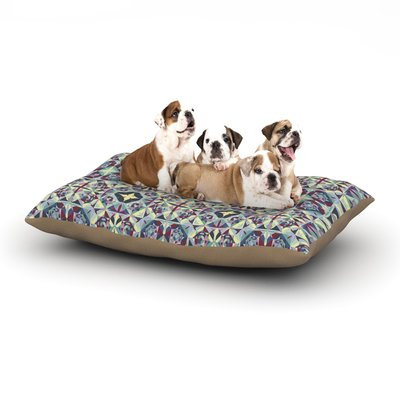 East Urban Home Allison Soupcoff 'Curiousity' Dog Pillow with Fleece Cozy Top Size: Small (40