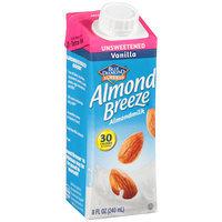 Blue Diamond Almonds® Almond Breeze® Unsweetened Vanilla Almondmilk 8 fl. oz. Aseptic Carton