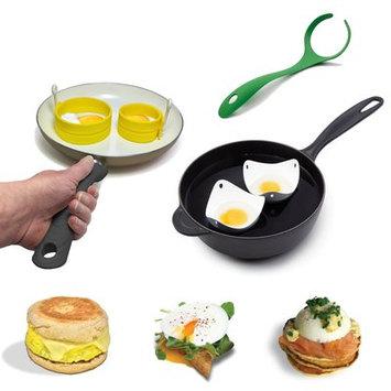 Fusionbrands 4 Piece Egg Poacher Set
