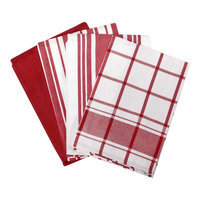 All Clad All-Clad Chili Set of 4 Woven Kitchen Towels