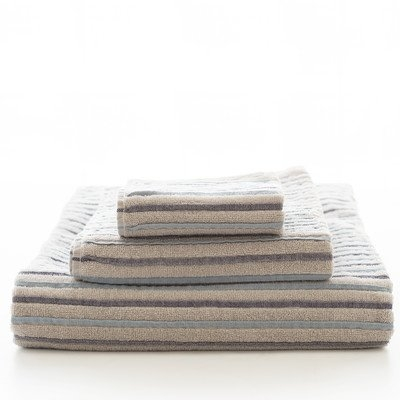 Pine Cone Hill East Hampton Washcloth Color: Blue