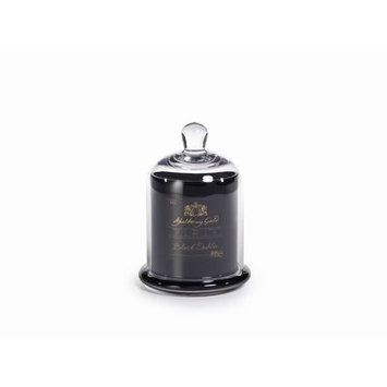 Gracie Oaks Dahlia Scented Candle in Glass Jar with Bell Cloche (Set of 4) Size: 5.75