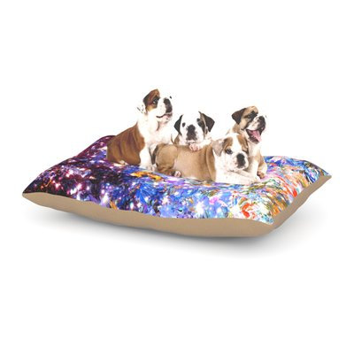 East Urban Home Ebi Emporium 'Midnight Serenade' Dog Pillow with Fleece Cozy Top Size: Large (50