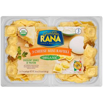 Rana Organic 3 Cheese Mini Ravioli