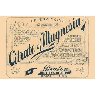 Buyenlarge 'Citrate Magnesia' Vintage Advertisement Size: 66