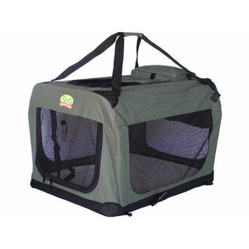 Go Pet Club Dog Pet Soft Crate - Sage