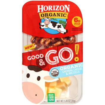 Horizon NEW! Good & Go! Cheddar & Pretzels