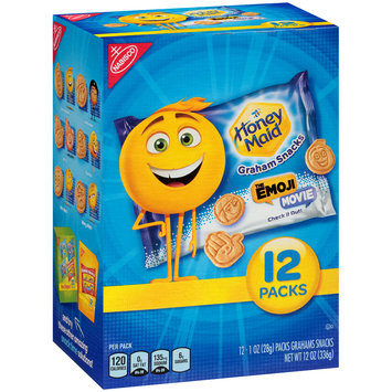 Nabisco Honey Maid The Emoji Movie Graham Snacks 12-1 oz. Packs