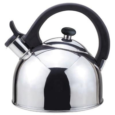 Magefesa Nubia Stainless Steel Tea Kettle, 2.1-Quart
