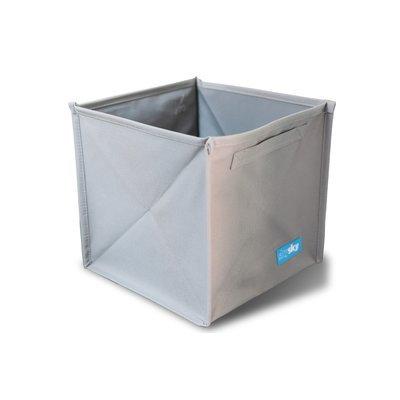 Skysky Nursery Storage Fabric Cube Color: Gray