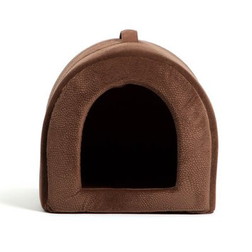 Best Friends By Sheri Pet Igloo Ilan Dome Color: Dark Brown