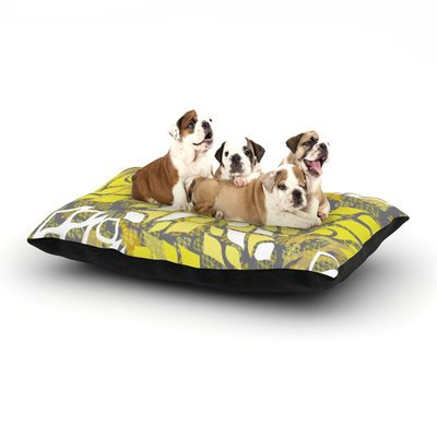 East Urban Home Miranda Mol 'Sandy Signs' Dog Pillow with Fleece Cozy Top Size: Small (40