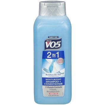 Alberto VO5® 2 in 1 Moisturizing Shampoo + Conditioner 33 fl. oz. Squeeze Bottle