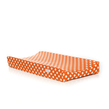 Sweet Potato By Glenna Jean Changing Pad Cover (Orange Dot)