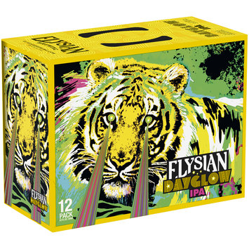 Elysian Dayglow IPA Beer 12-12 fl. oz. Cans