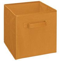ClosetMaid Cubeicals Fabric Drawer - Fiesta Orange - 1 Pack