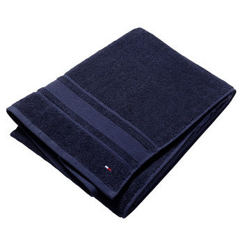 Tommy Hilfiger Signature 6 Piece Towel Set Color: Medieval Blue