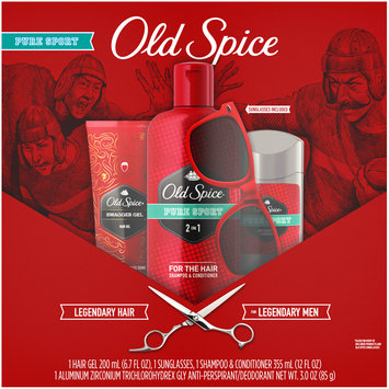 Old Spice Pure Sport/Swagger Variety Pack 4 pc Box