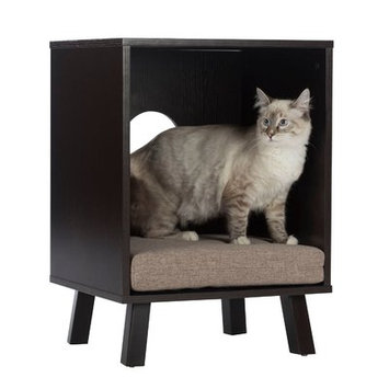 Offex Pet Bed and End Table