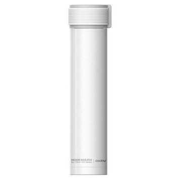 Adnart Skinny Mini 10 Oz. Water Bottle Color: White