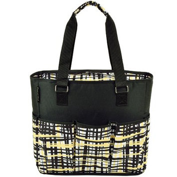 Picnic at Ascot 541-P Large Insulated Multi Pocket Travel Bag - Paris