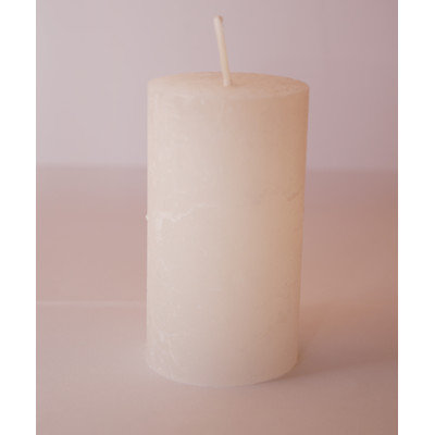 Winston Porter European Pillar Candle (Set of 4) Color: Off-White