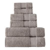 Rokahome 6 Piece Bath Towel Set Color: Beige